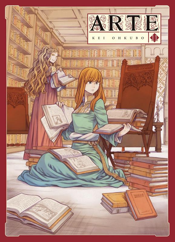 Arte T11, manga chez Komikku éditions de Ohkubo