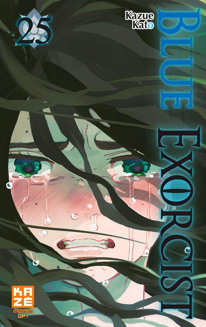 Blue exorcist T25, manga chez Kazé manga de Kato