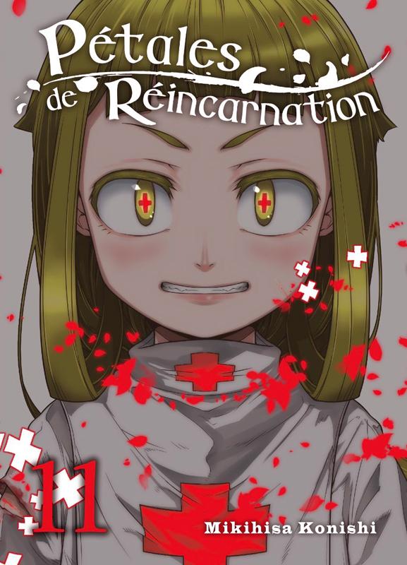 Pétales de réincarnation T11, manga chez Komikku éditions de Konishi