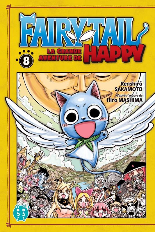 Fairy tail - La grande aventure de Happy  T8, manga chez Nobi Nobi! de Sakamoto
