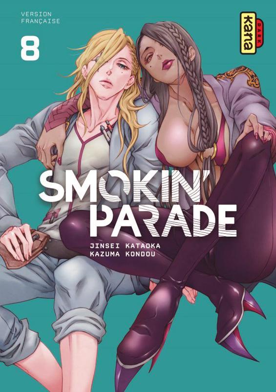 Smokin'parade T8, manga chez Kana de Kataoka, Kondou