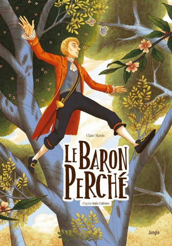Le Baron perché, bd chez Jungle de Martin