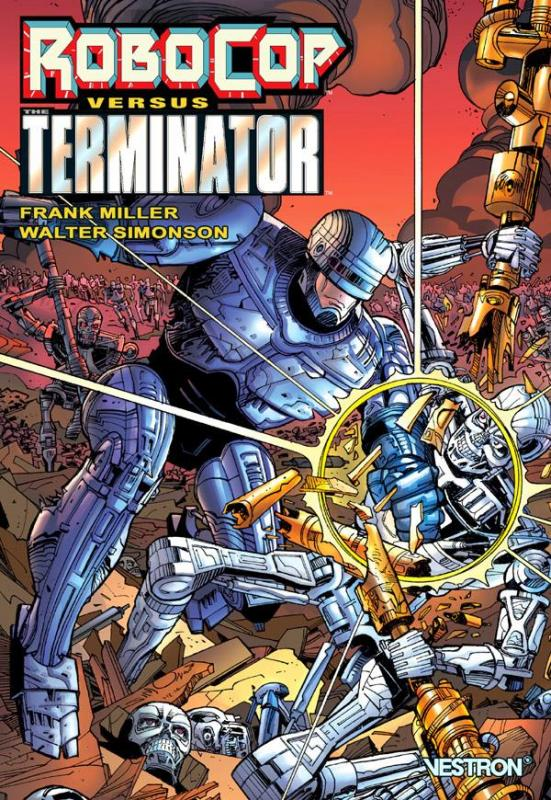 Robocop versus the Terminator, comics chez Vestron de Miller, Simonson, Oliff