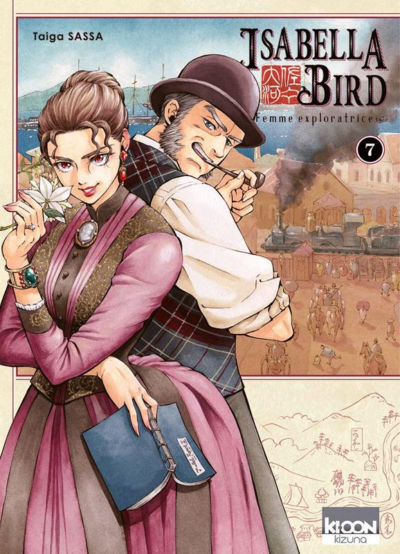 Isabella Bird, femme exploratrice T7, manga chez Ki-oon de Sassa