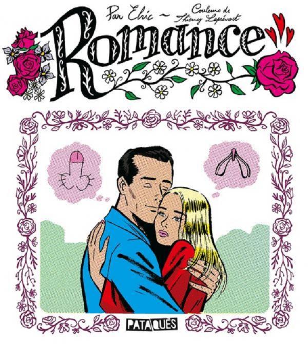 Romance, bd chez Delcourt de Elric
