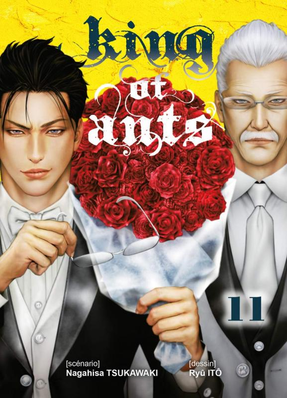 King of ants T11, manga chez Komikku éditions de Tsukawaki, Itô