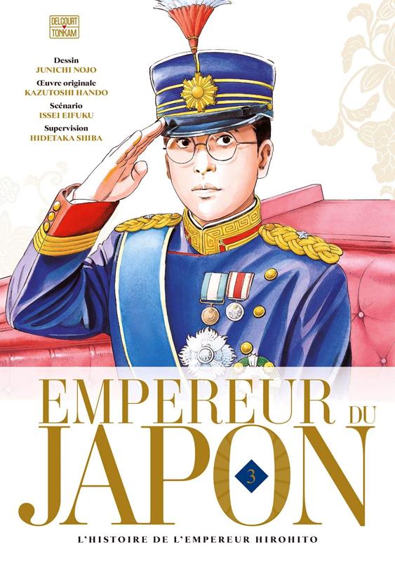 Empereur du Japon T3, manga chez Delcourt Tonkam de Hando, Eifuku, Nojo
