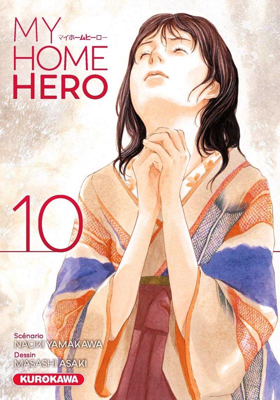 My home hero T10, manga chez Kurokawa de Yamakawa, Araki