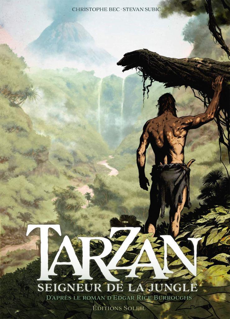 Tarzan T1 : Origines (0), bd chez Soleil de Bec, Subic, Facio Garcia