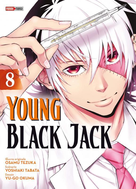 Young Black Jack T8, manga chez Panini Comics de Tabata, Tezuka, Okuma