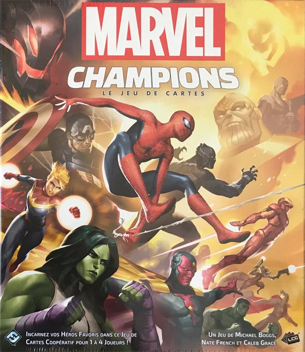 Marvel Champions, comics chez Fantasy Flight Games  de Boggs, Grace, French, Beck, Ivan