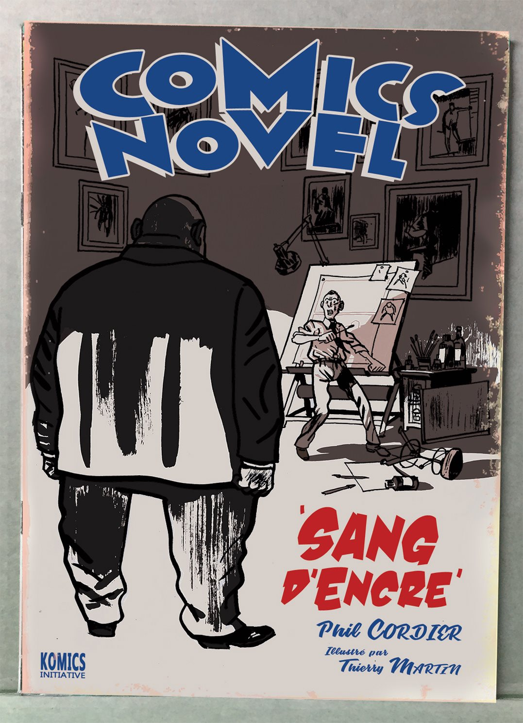 Comics Novel T1 : Sang d'encre (0), comics chez Komics Initiative de Cordier, Martin