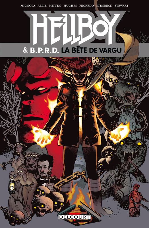 Hellboy & B.P.R.D. T6 : La Bête de Vargu & autres histoires (0), comics chez Delcourt de Mignola, Allie, Mitten, Hugues, Stenbeck, Fegredo, Stewart, Wagner