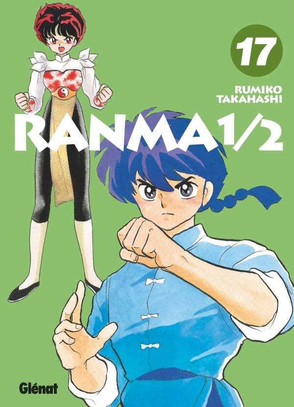 Ranma ½ T17, manga chez Glénat de Takahashi