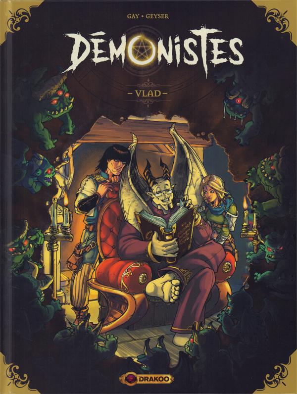 Démonistes T1 : Vlad (0), bd chez Bamboo de Gay, Geyser, Gibie