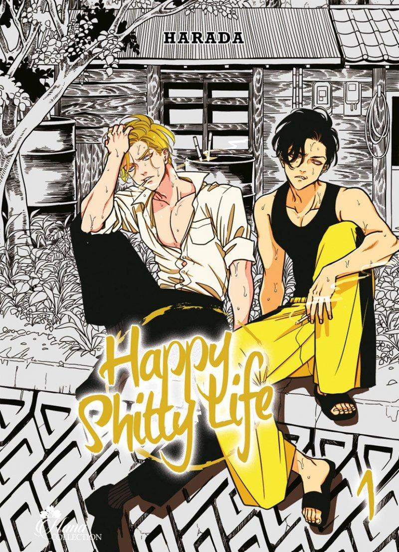 Happy shitty life T1, manga chez Boy's Love IDP de Harada