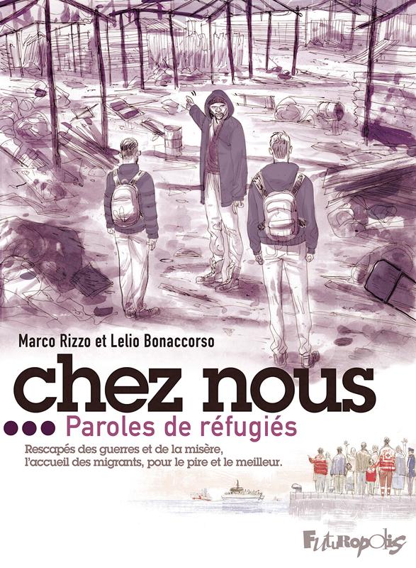 Chez nous, bd chez Futuropolis de Rizzo, Bonaccorso