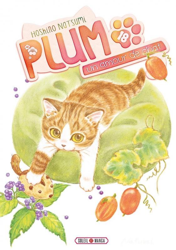 Plum, un amour de chat  T18, manga chez Soleil de Hoshino