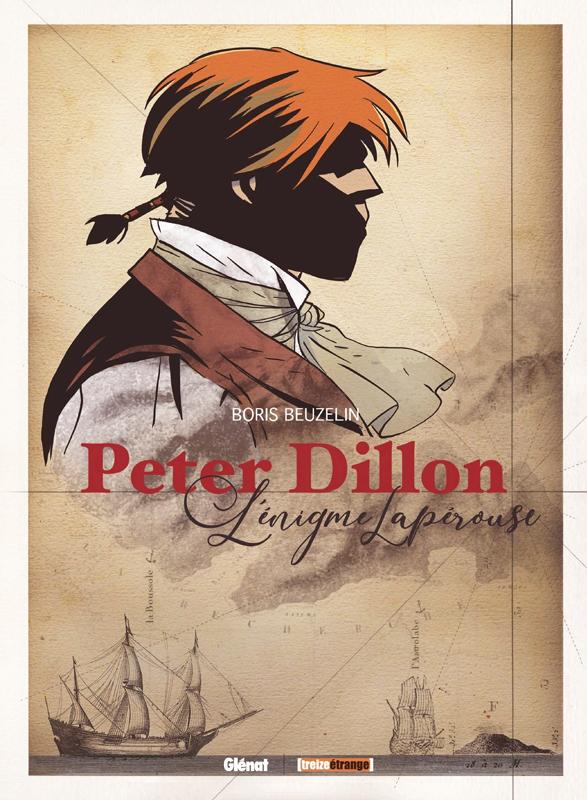 Peter Dillon : et l'énigme Lapérouse (0), bd chez Glénat de Beuzelin