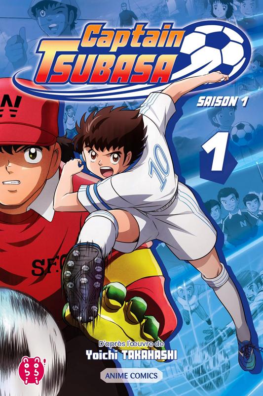 Captain Tsubasa Anime comics – Saison 1, T1, manga chez Nobi Nobi! de Takahashi, DAVID Production
