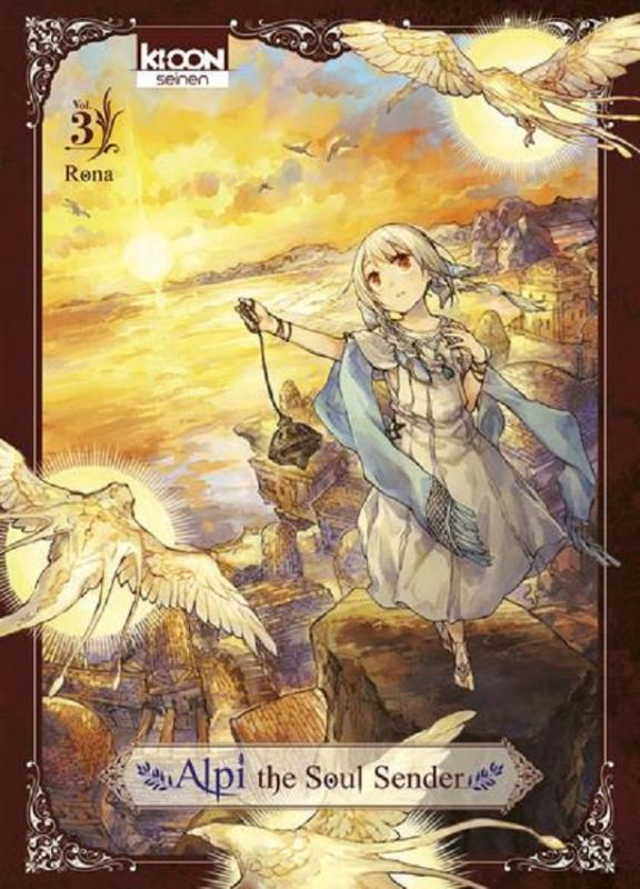 Alpi the soul sender T3, manga chez Ki-oon de Rona