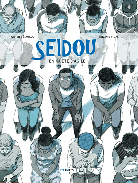 Seidou : En quête d'asile (0), bd chez Steinkis de Bétaucourt, Vidal