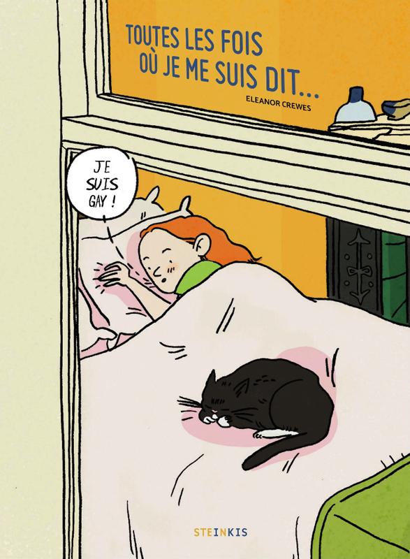 Toutes les fois où je me suis dit... je suis gay !, comics chez Steinkis de Crewes