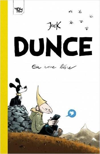 Dunce, comics chez 404 éditions de JensK