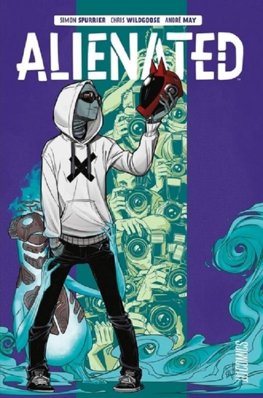 Alienated, comics chez Hi Comics de Spurrier, Wildgoose, May