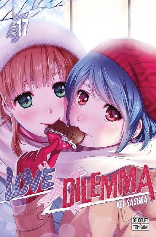 Love x dilemma T17, manga chez Delcourt Tonkam de Sasuga