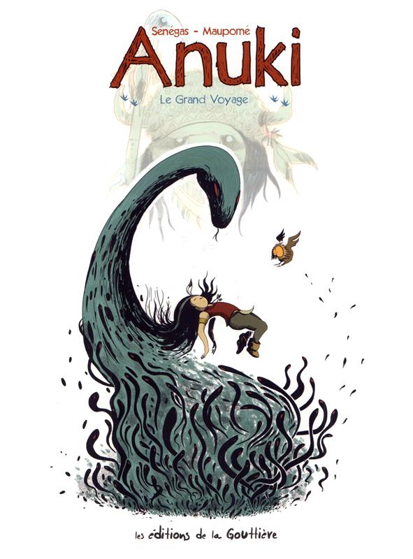 Anuki T10 : Le Grand voyage (0), bd chez Editions de la Gouttière de Maupomé, Sénégas