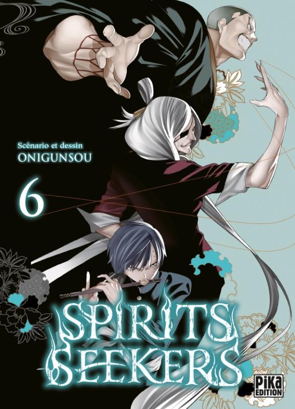 Spirit seekers T6, manga chez Pika de Onigunsô
