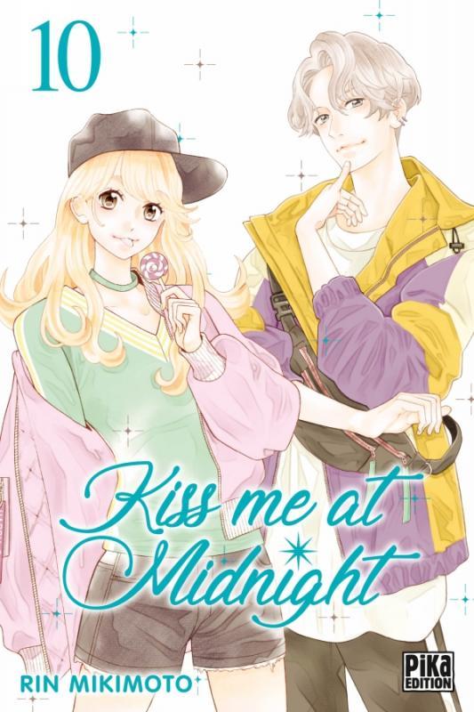 Kiss me at midnight T10, manga chez Pika de Mikimoto