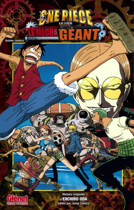 One Piece - Le mecha géant du château Karakuri, manga chez Glénat de Oda