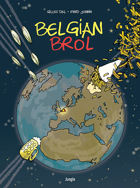 Belgian Brol, bd chez Jungle de Dal, Jannin