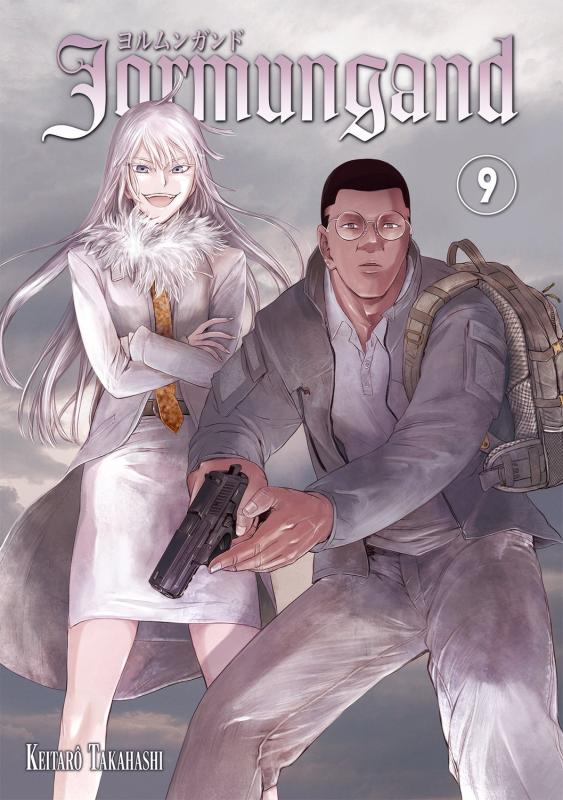 Jormungand T9, manga chez Meian de Takahashi