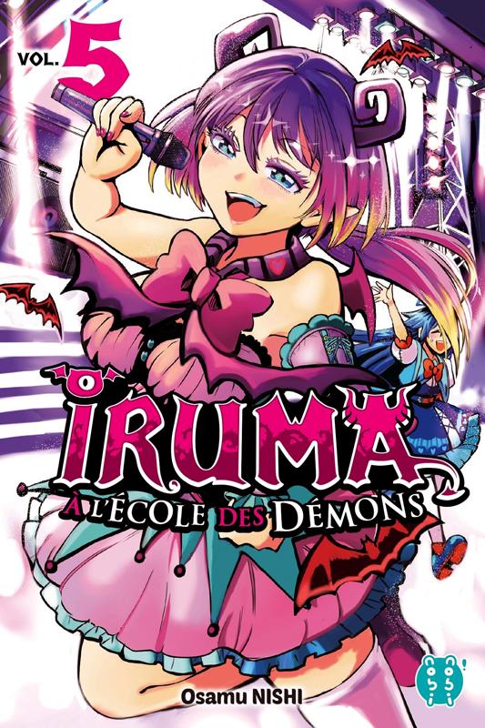 Iruma à l'école des démons T5, manga chez Nobi Nobi! de Nishi
