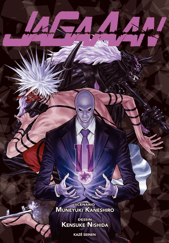 Jagaaan T11, manga chez Kazé manga de Kaneshiro, Nishida