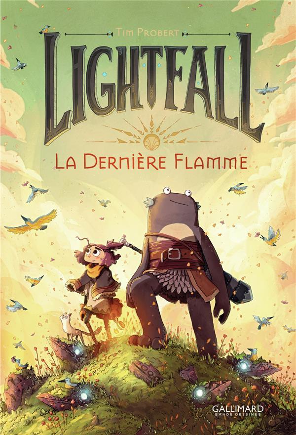 Lightfall T1 : La dernière flamme (0), bd chez Gallimard de Probert