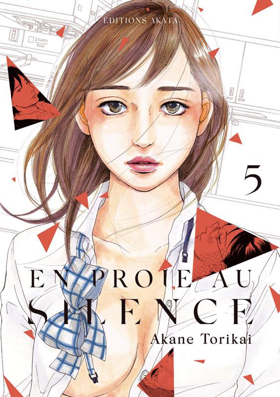 En proie au silence T5, manga chez Akata de Torikai