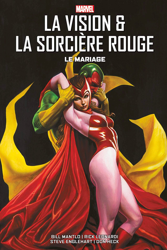 La Vision & la Sorcière Rouge  : Le mariage  (0), comics chez Panini Comics de Englehart, Mantlo, Leonardi, Heck, Goldberg, Quality colors, Sharen, Roussos, Granov