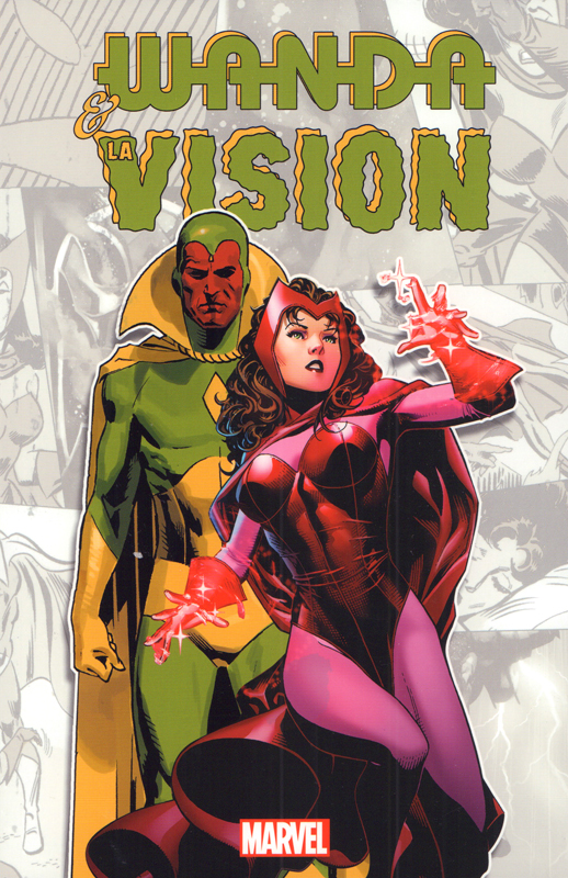 Wanda & la Vision, comics chez Panini Comics de Englehart, Higgins, Dematteis, Siegel, Gammill, Buscema, Heck, Perger, Goldberg, Sharen, Coipel