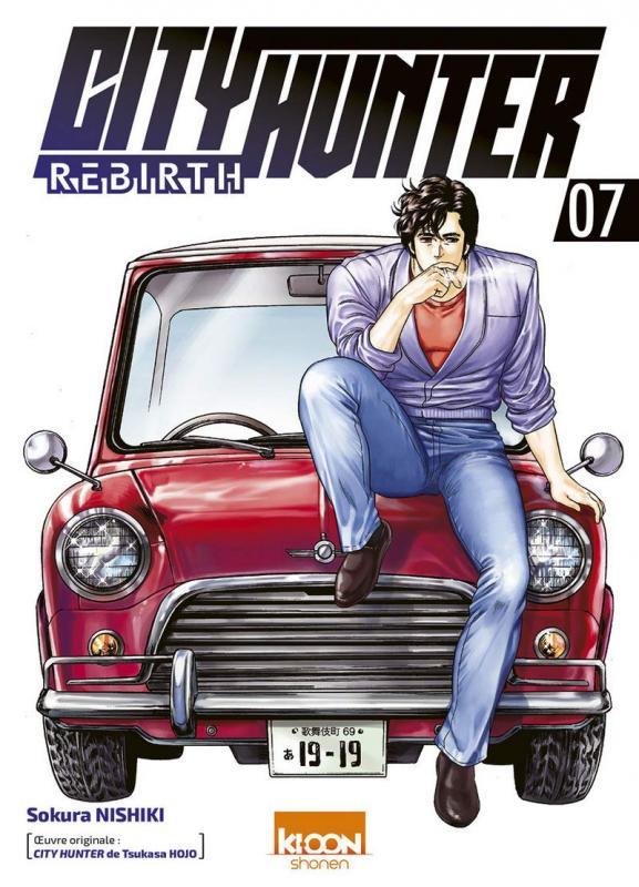 City Hunter rebirth T7, manga chez Ki-oon de Nishiki, Hôjô