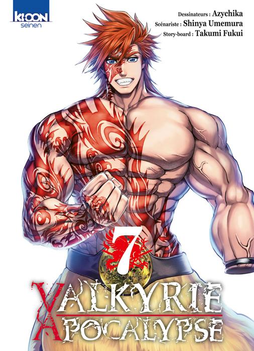Valkyrie apocalypse T7, manga chez Ki-oon de Umemura, Ajichika