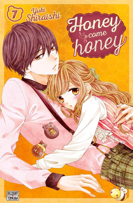 Honey come honey T7, manga chez Delcourt Tonkam de Shiraishi