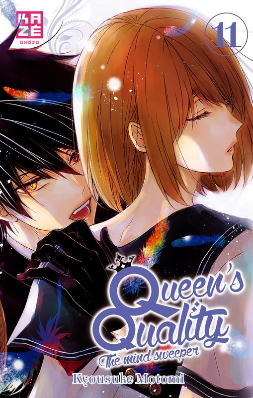 Queen's quality T11, manga chez Kazé manga de Motomi