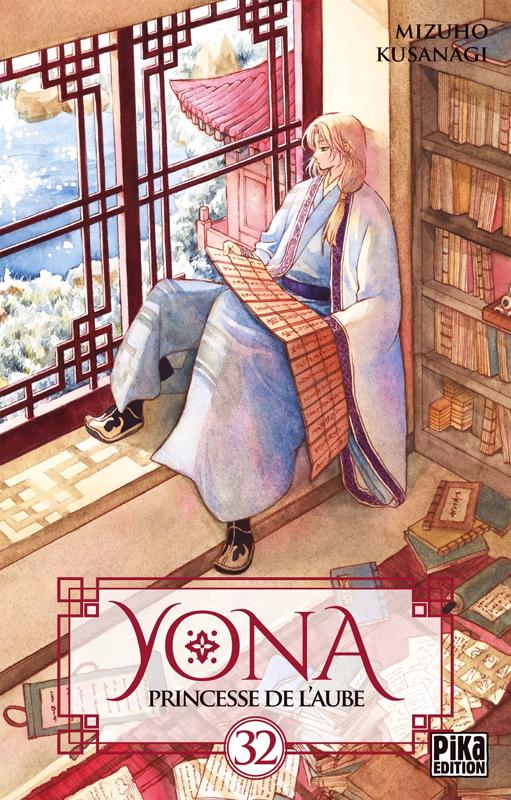 Yona, princesse de l'aube  T32, manga chez Pika de Mizuho