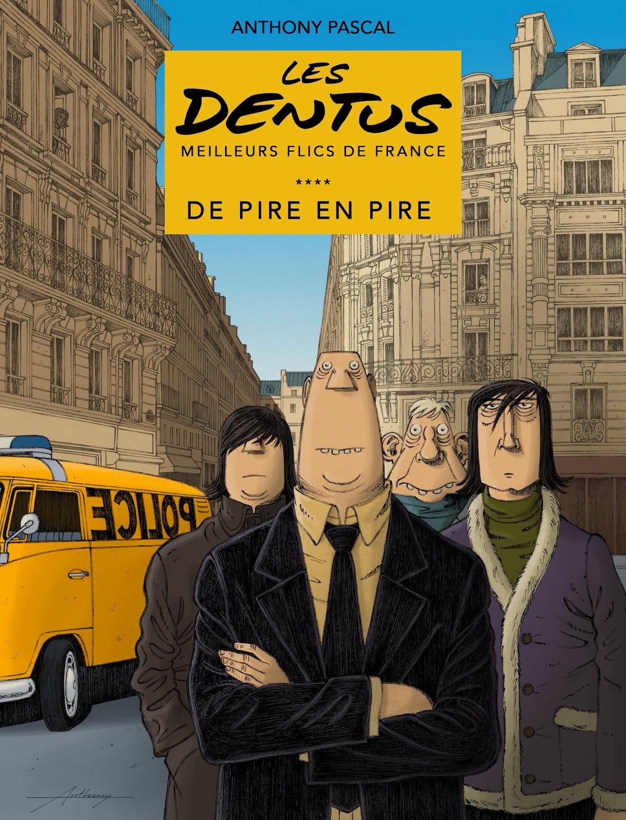 Les Dentus, bd chez La Mouche-Krocodile de Pascal