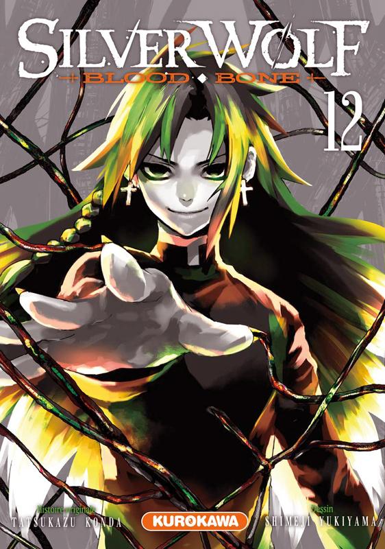 Silver wolf Blood bone T12, manga chez Kurokawa de Konda, Yukiyama