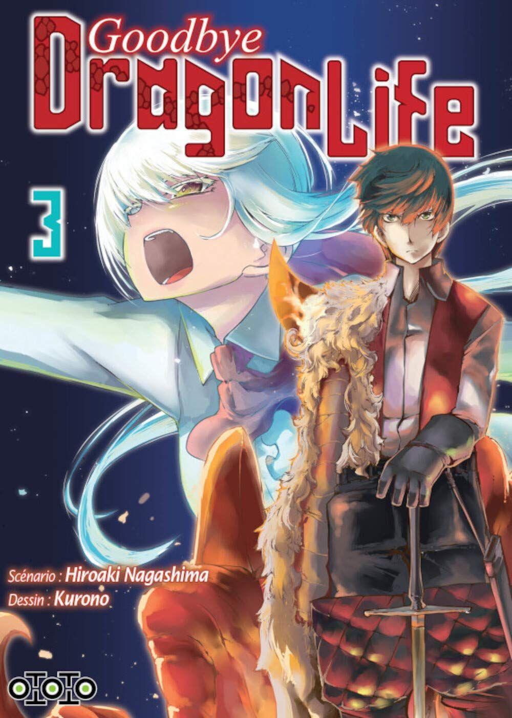 Goodbye, dragon life T3, manga chez Ototo de Nagashima